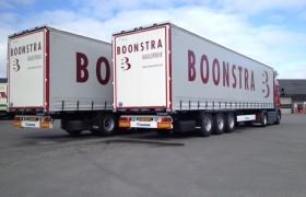 2 Krone Profi Liner's voor Boonstra Transport