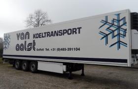 Nieuwe Krone Polyester-Steel voor Van Aalst Koeltransport