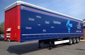 4 Krone Profi Liner's voor Timmerman Transport