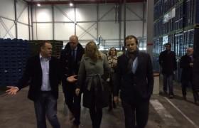 Minister Schultz bezoekt Wezenberg Transport en ALC