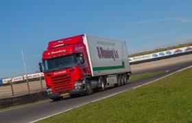 Wezenberg Transport op de LNG Rij-testdag op het circuit van Zandvoort!