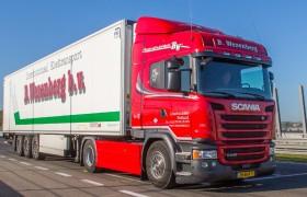 170 nieuwe Scania's voor Wezenberg Transport