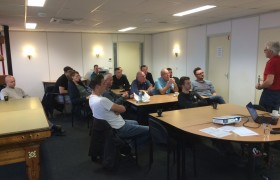 Training code 95 in volle gang…