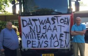 Willem van Hooren met pensioen!