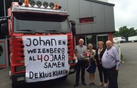 Johan klaart al 40 jaar de klus bij Wezenberg!