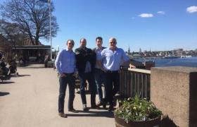 Chauffeursreis naar Scania in Zweden, mei 2017