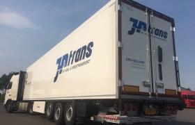 Nieuwe koeloplegger voor JP Koeriersdiensten Urk