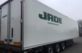 2 nieuwe Wezenberg koelopleggers voor Jade Transportdiensten