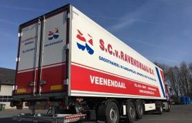 3 x gestuurde Wezenberg koelopleggers voor Van Ravenswaaij