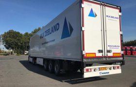 WLK Transport Zeeland kiest voor 3x Wezenberg Krone koeloplegger