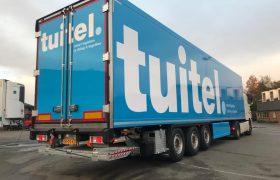 Tuitel – Smart Logistics -Bunschoten kiest wederom voor Wezenberg Polyester Krone koel opleggers
