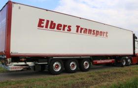 Wezenberg Trailers levert Krone Dry Liner af aan Elbers Transport in Eemnes