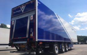 Nieuwe Wezenberg Krone koeler voor Mitchell van Kessel Transport uit Beek