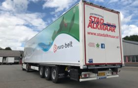 Wederom nieuwe Krone Wezenberg kastenoplegger voor Logistiekcentrum Stad Alkmaar