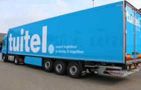Tuitel – Smart Logistics kiest opnieuw voor Wezenberg Polyester Krone koeloplegger