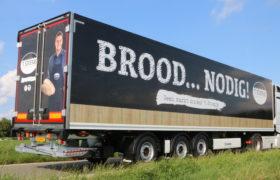 Nieuwe Krone Wezenberg gestuurde oplegger voor Transportbedrijf van de Geest uit Bunschoten