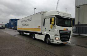 Truckland IJmond levert in samenwerking met Wezenberg Trailers een complete lescombinatie af aan Verkeersschool Brinkman & Arend Reym in Haarlem