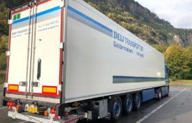 Wezenberg Trailers polyester Krone afgeleverd aan Deij Transport uit Geldermalsen