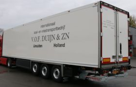 Wezenberg Trailers polyester Krone afgeleverd aan VOF Duijn en zonen uit IJmuiden