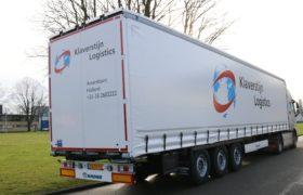 Wezenberg Trailers levert nieuwe Krone Tautliner af aan Klaverstijn Transport & Logistiek uit Amersfoort