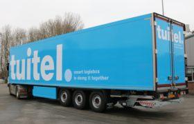 Tuitel – Smart Logistics kiest opnieuw voor Wezenberg Polyester Krone koelopleggers