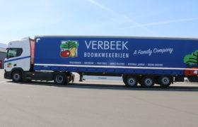 Wezenberg Trailers levert Scania trekker met Krone Profi Liner af aan Verbeek Boomkwekerijen uit Steenbergen