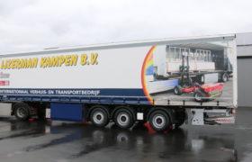 Wezenberg Trailers levert gestuurde Krone Tautliner af aan Verhuis- & Transportbedrijf IJzerman Kampen BV
