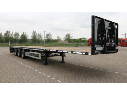 HRD SPLB3S    3 as Platte mega trailer   3 Achse  Plateau Mega Auflieger   3 axle Mega Flatbed trailer