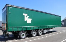 Wezenberg Trailers levert serie van 4 opleggers af aan Transport Keijzer Warmond uit Oegstgeest (TKW bv)