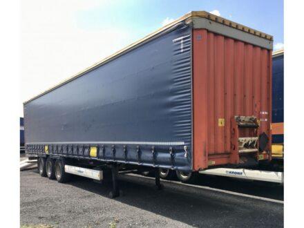 Krone SDP 27 eLHB3-CS Schuifzeiloplegger Huckepackausführung / BPW axle