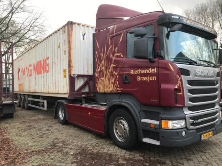 Scania R440 Scania R440 + LAG Kipcontainerchassis