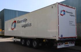 Wezenberg Trailers levert nieuwe Krone Dry Liner af aan Klaverstijn Transport & Logistiek uit Amersfoort