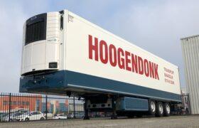 Wezenberg Trailers levert Krone polyester koeloplegger af aan Transportbedrijf Hoogendonk in Maasdijk
